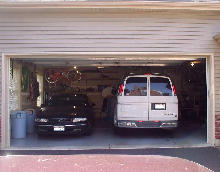 Accessible housing and universal for 10 foot high garage door